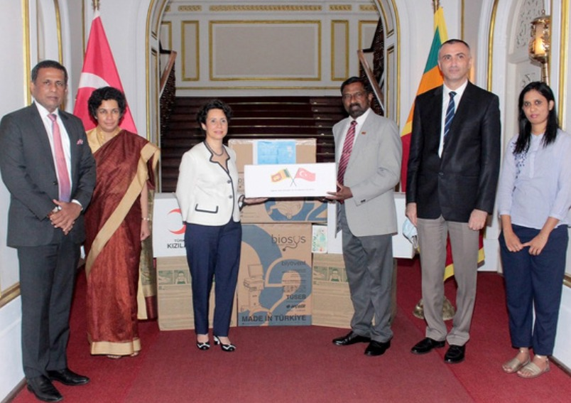 Turkey Donates Ventilators and Protective Equipment to Sri Lanka to Address Covid-19 Challenges