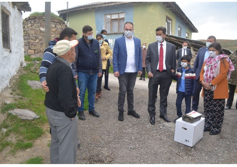 Embassy distributed Ramadan aid to Yaylabag Village, Gölbaşı, Ankara