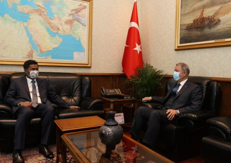 Ambassador calls on Minister of National Defence of Turkey