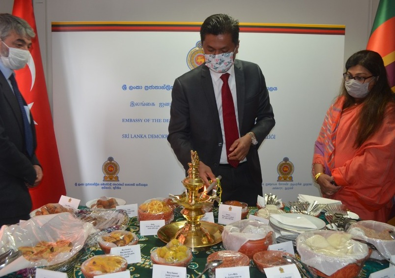 Embassy celebrated Sinhala & Tamil New year 2021